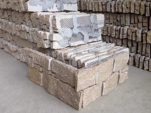 culture stone cement wall cladding panel corner 19-4
