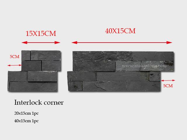 culture stone wall cladding panel corner 10-2