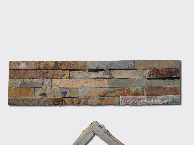 culture stone wall cladding panel corner 16-1