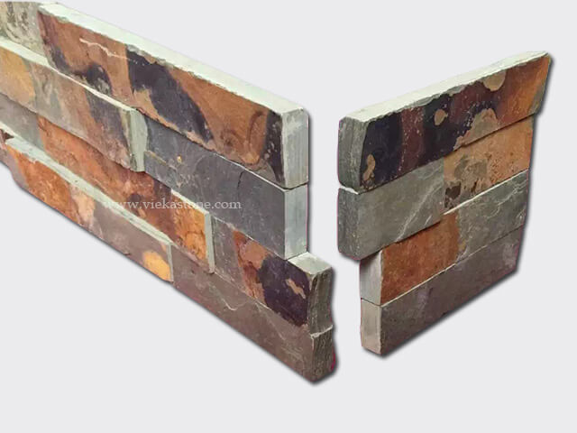 culture stone wall cladding panel corner 16