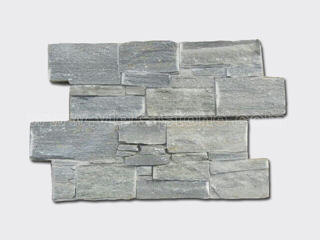 Green Slate Cement Wall Stone Panel 6-1