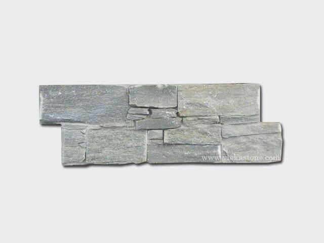 Green Slate Cement Wall Stone Panel 6