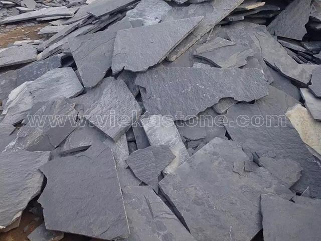 P016 scale fish slate irregular crazy flagstone