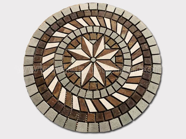 Slate Mosaic Medallion Pattern (3)