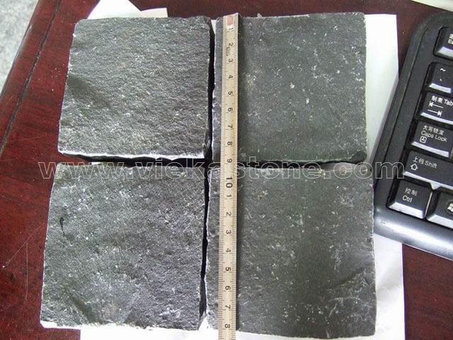 Zhangpu Black granite cube stone