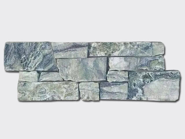 Black Ice Cement Wall Stone Panel 10
