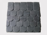 black roofing slate tile fish scale (1)