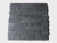 black roofing slate tile rectangle (1)