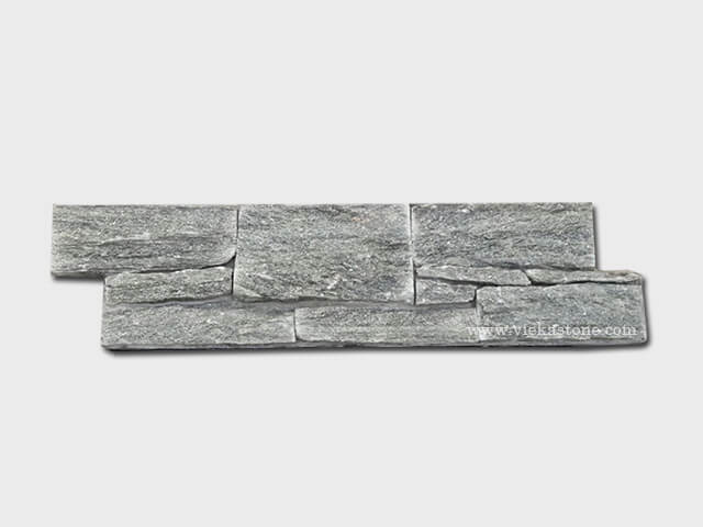 Green Quartzite Cement Wall Stone Panel 7