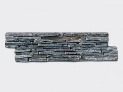 green Slate Cement Wall Stone Panel CP017