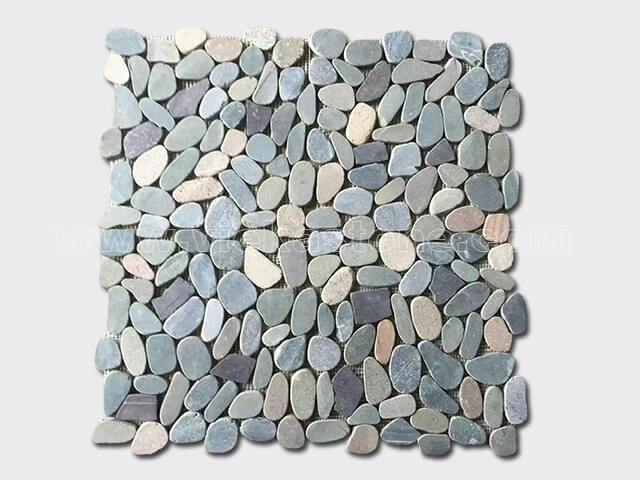 pebble mesh mosaic tile 3