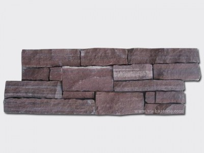 Red Slate Cement Wall Stone Panel 11