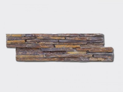 rusty Slate Cement Wall Stone Panel 12