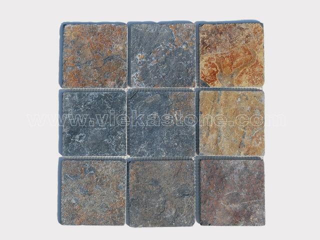 Slate Mosaic Pattern Tile 00
