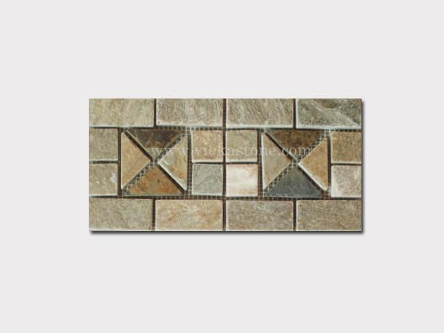 slate mosaic skirting liner border (10)