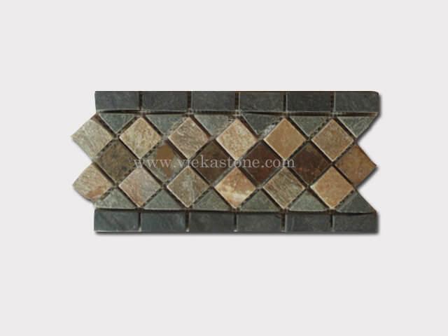 slate mosaic skirting liner border (12)