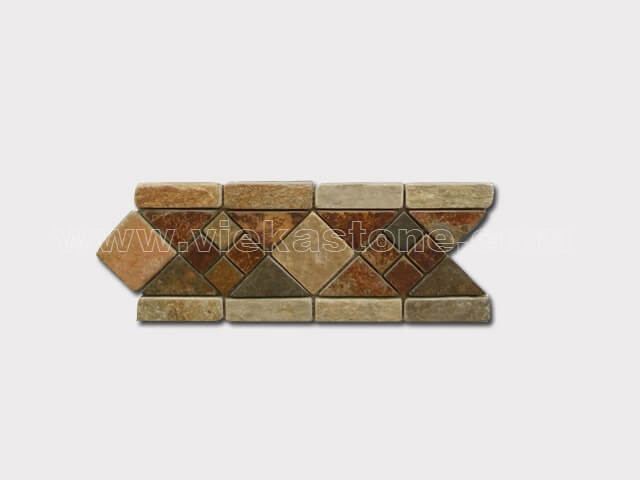 slate mosaic skirting liner border (14)