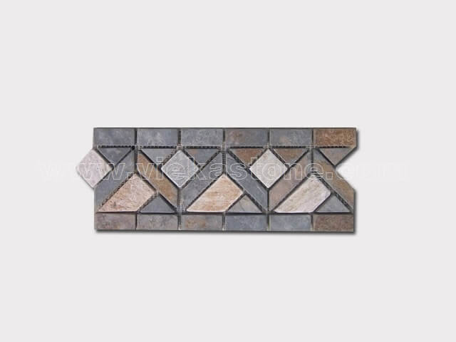 slate mosaic skirting liner border (18)