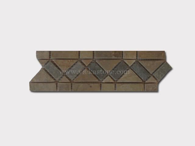 slate mosaic skirting liner border (4)