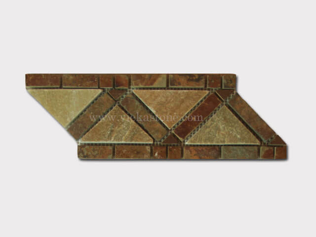 slate mosaic skirting liner border (6)
