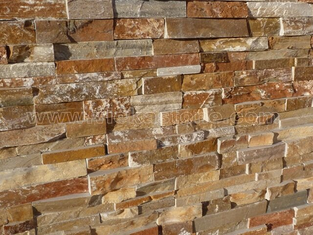 Quartz Stone Veneer : Yellow quartz ledgstone veneer lp vieka natural