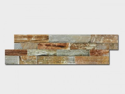 014 Yellow Quartz Ledgstone Veneer LP006