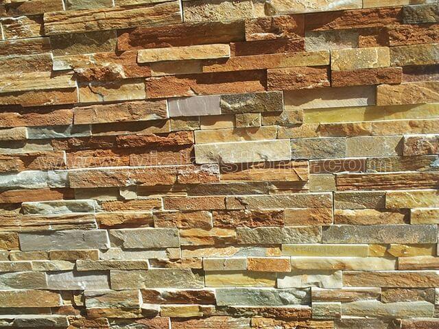 Quartz Stone Veneer : Yellow quartz ledgstone veneer lp vieka stone co ltd