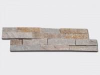 Beige Slate Stone Cladding Wall Panels z shape 1
