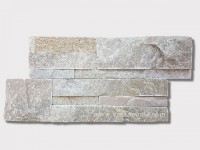 Beige slate culture stone wall panel 35x18cm