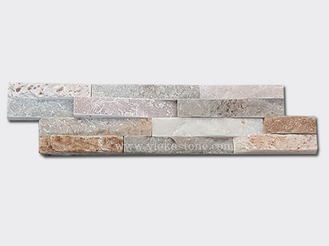 beige slate thin stone veneer slim panel 1