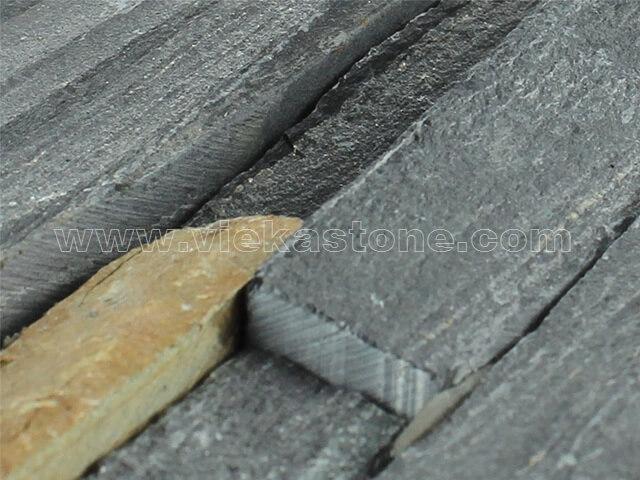 black rustic ledgestone veneer s shape lp11-4