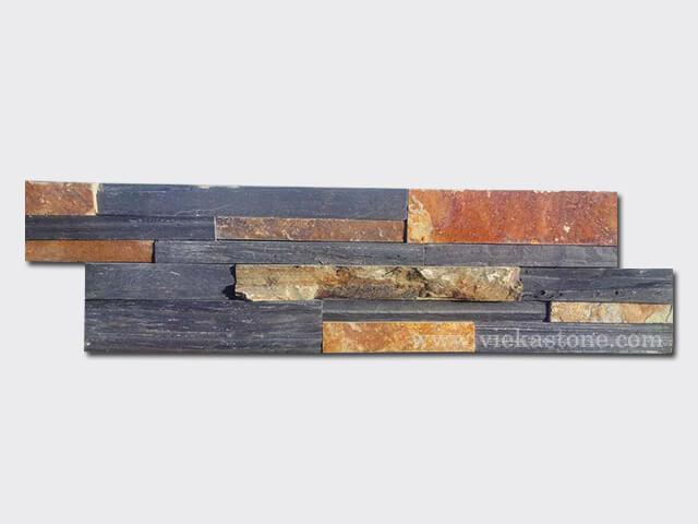 black rustic ledgestone veneer lp13-1