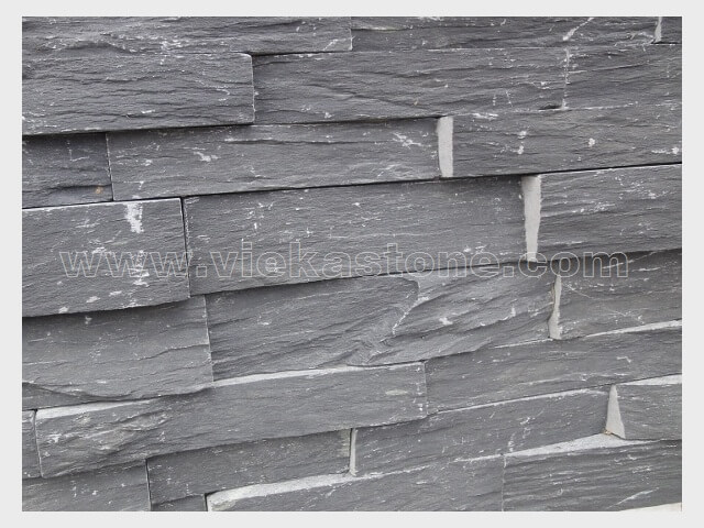 black slate charcoal ledgestone veneer s shape lp10-4
