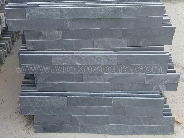 Charcoal Black Slate Stone Cladding Wall Panels ZP002 - VIEKA ...