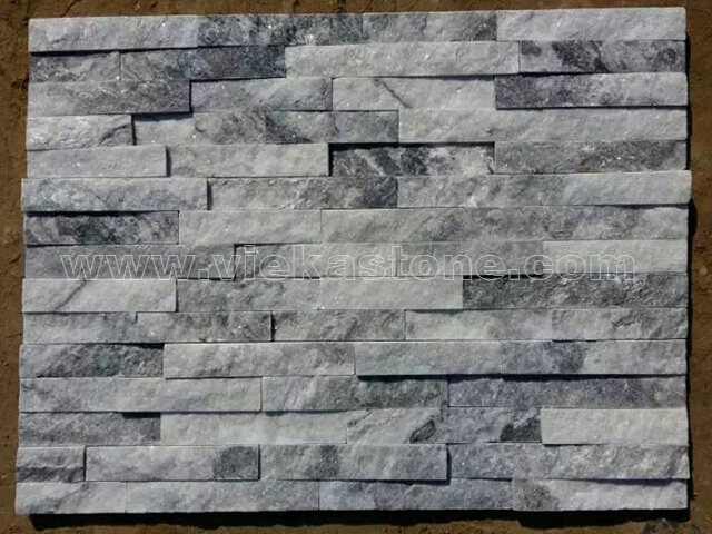 Cloud Grey Stone Panels Wall Cladding Rectangle Shape 4
