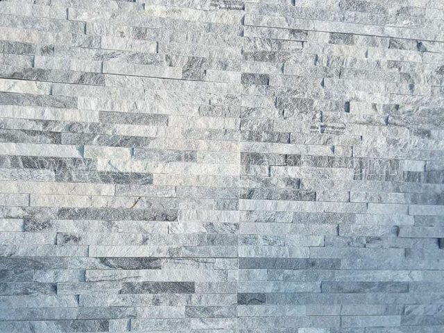 Cloud Grey Stone Panels Wall Cladding Rectangle Shape 5