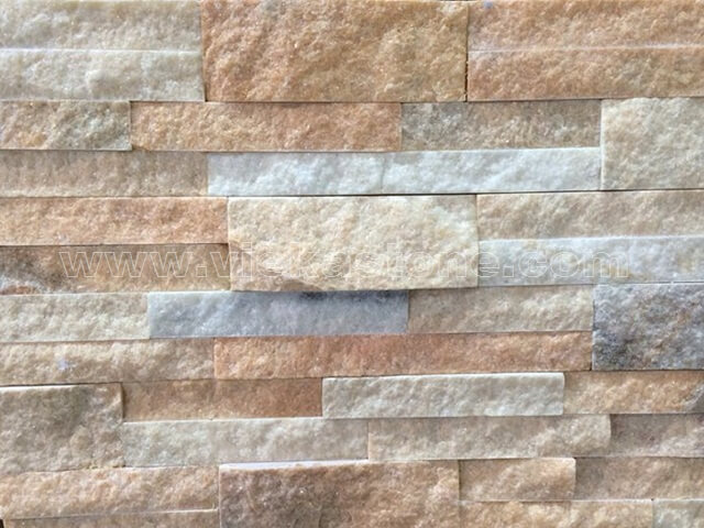 Crystal Pink Stone Panels Wall Cladding Square Rectangle Shape 5