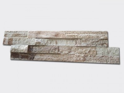 Golden line slate stone cladding wall panels Z shape 1