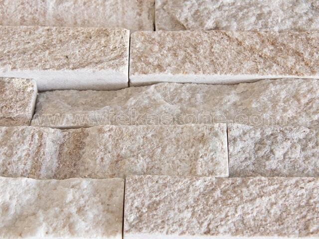 Golden line slate stone cladding wall panels Z shape 4