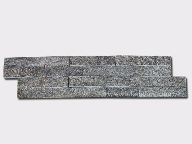 Green Quartz Stone Cladding Wall Panels z shape 1