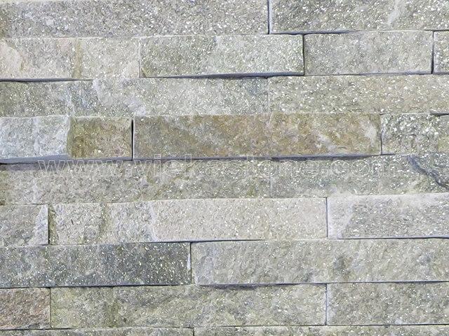 Quartz Stone Veneer : Green quartz thin stone veneer slim panel tp vieka