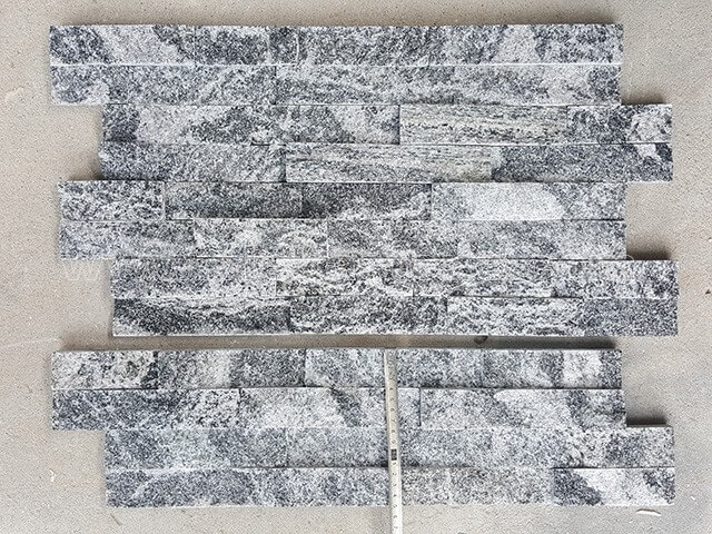 Landscape Granite Stone Cladding Wall Panels z shape 3