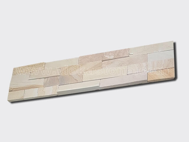 Landscape Sandstone Stone Panels Wall Cladding Rectangle Shape 2