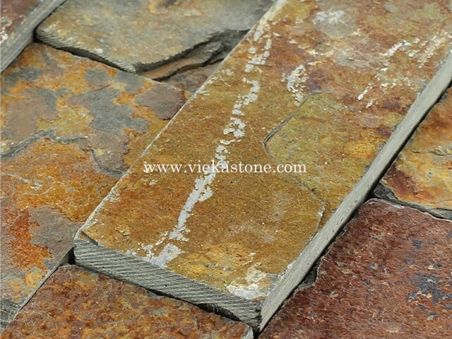 multicolor slate thin stone veneer slim panel 4
