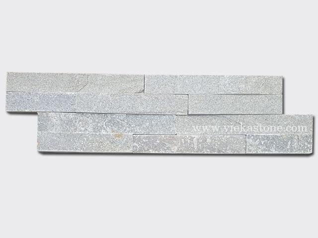 P013 Green Slate Stone Cladding Wall Panels z shape 1