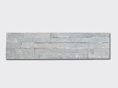 P013 Green Slate Stone Panels Wall Cladding Rectangle Shape 1