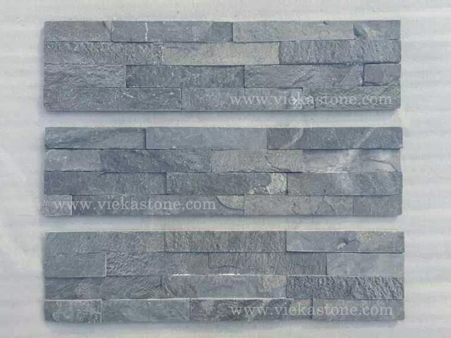 P016 Scale Stone Panels Wall Cladding Rectangle Shape 2