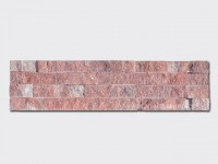 Peach Quartz Stone Panels Wall Cladding Rectangle Shape 1
