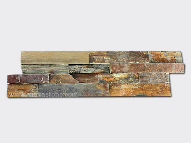 Rusty Slate Brown Ledgestone Veneer LP003