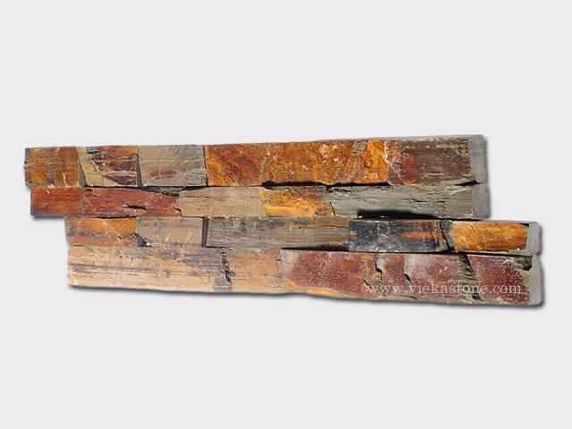 Rusty Slate Brown Ledgestone Veneer LP002